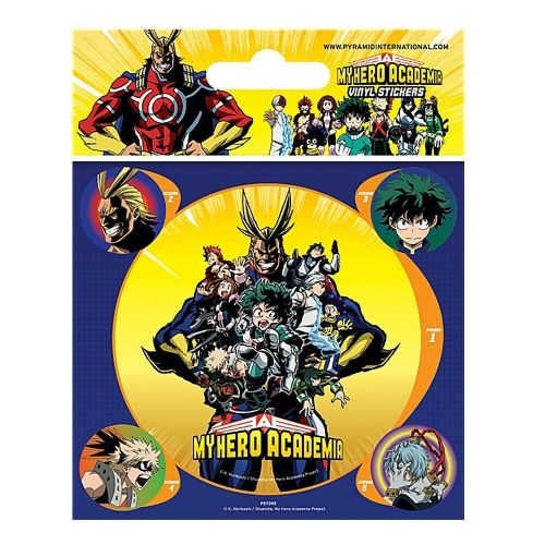 My Hero Academia Characters Vinyl Stickers Set Decals